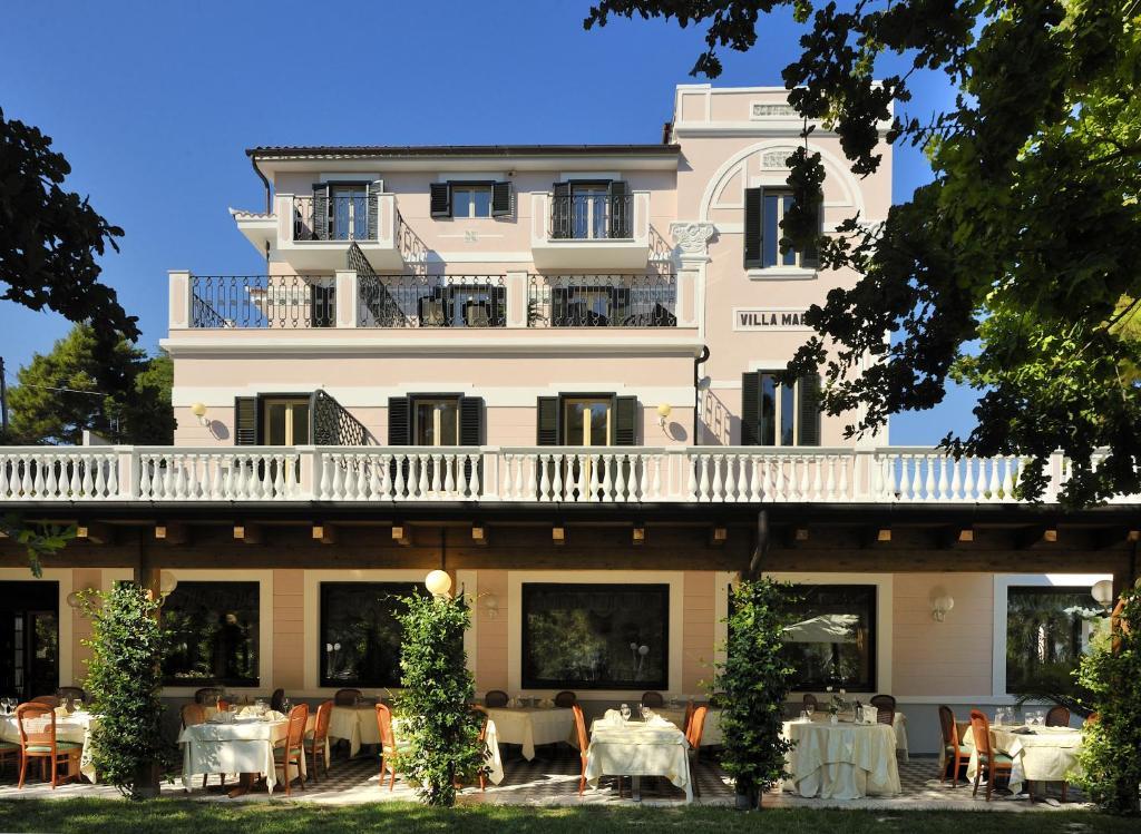 Park Hotel Villa Maria Via Del Carbonaro  San Menaio