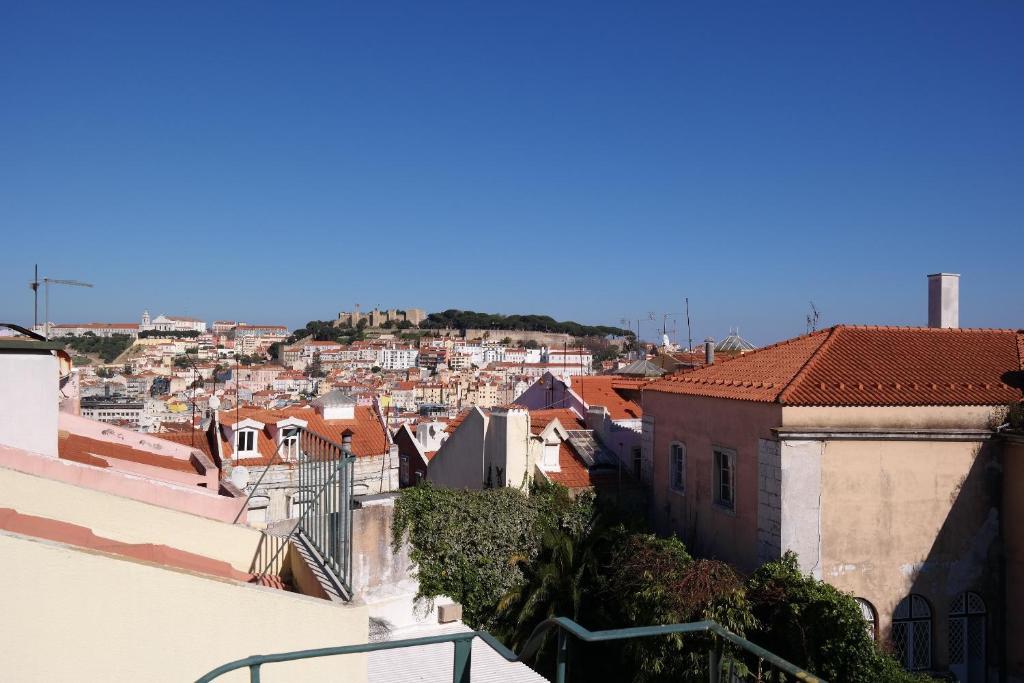 Apartamento terrace view in chiado portugal lisboa for 104 terrace view ave