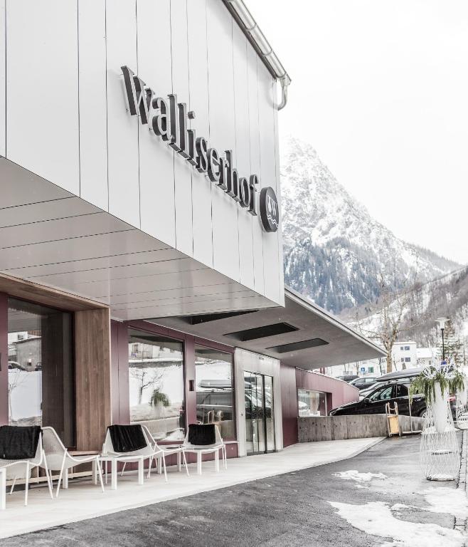 Walliserhof r servation gratuite sur viamichelin for Designhotel walliserhof