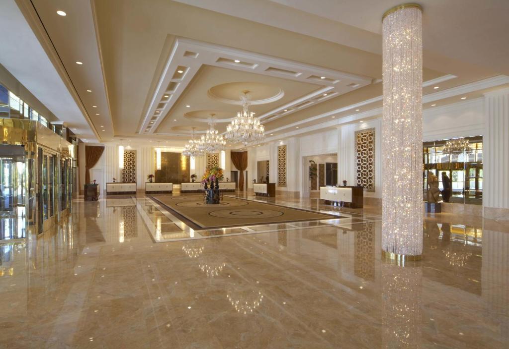 El lobby o recepción de Trump International Hotel Las Vegas