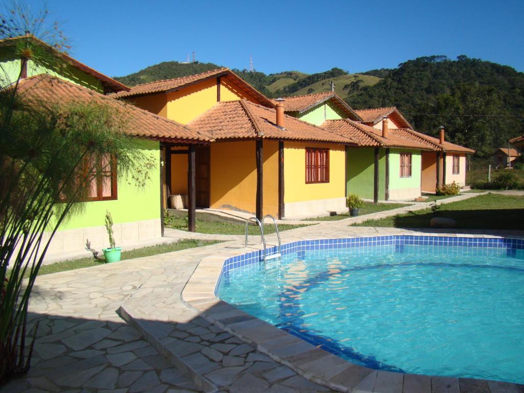 #2869A3 Pousada Chalés Vista da Serra (Brasil Visconde de Mauá) Booking  1024x768 px Banheiro Simples Com Hidro 1857