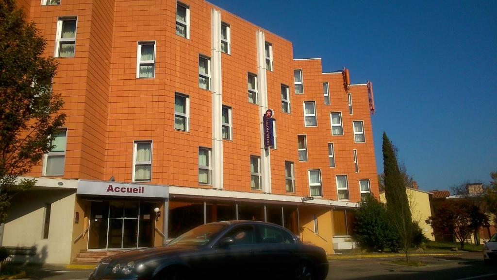 Inter hotel airport toulouse online booking viamichelin for Appart hotel 31300