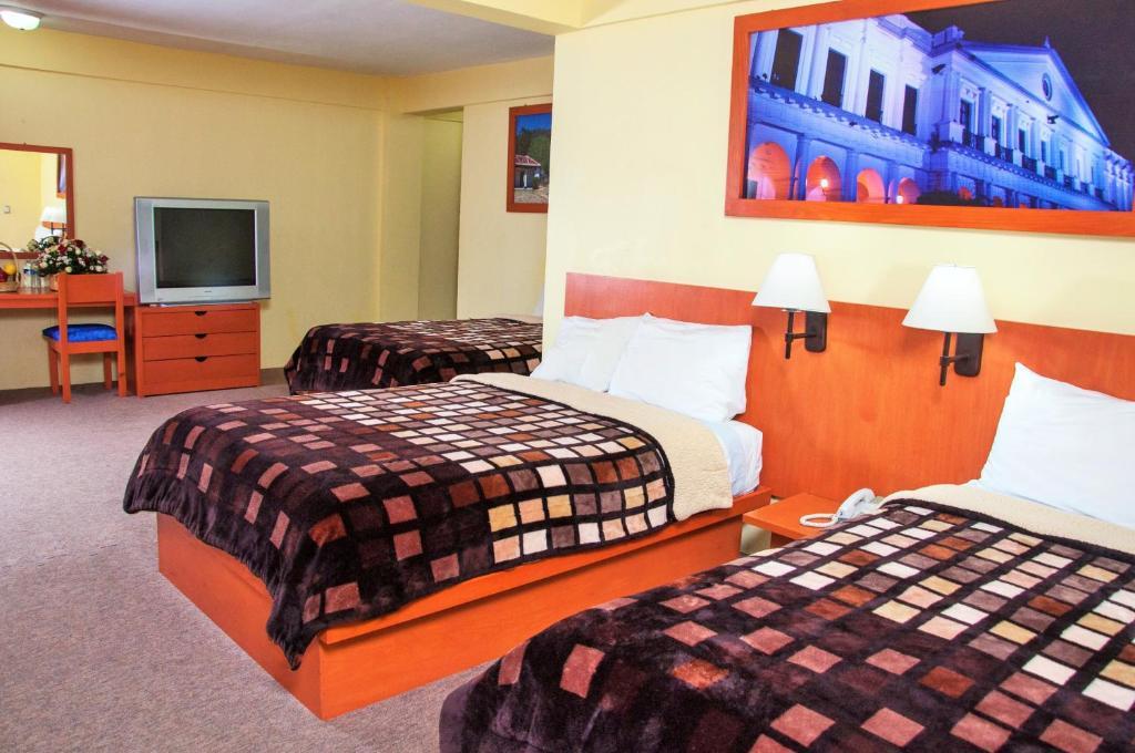 Hotel azulejos san crist bal de las casas for Hotel casa de los azulejos booking