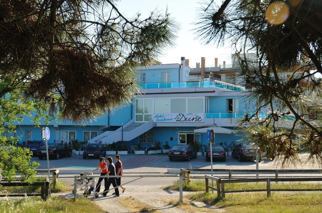 Hotel le dune ravenna prenotazione on line viamichelin - Bagno marina beach lido adriano ...