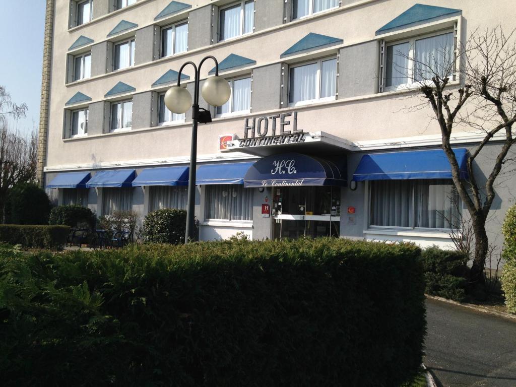 H tel continental vierzon online booking viamichelin for Hotels vierzon