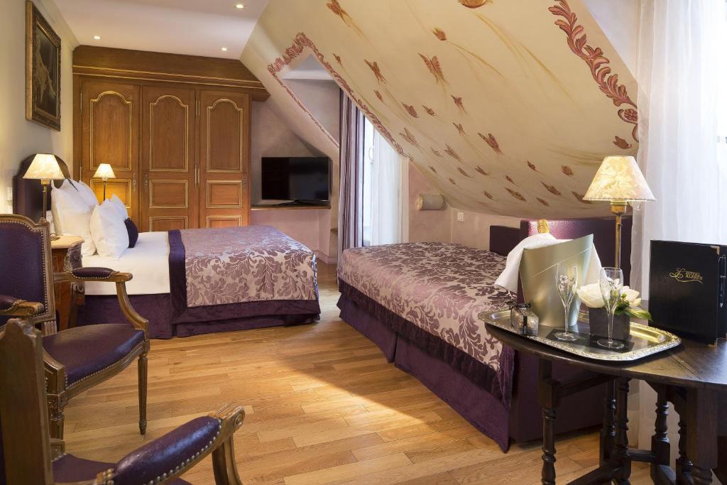 h tel kleber champs elys es tour eiffel paris paris online booking viamichelin. Black Bedroom Furniture Sets. Home Design Ideas