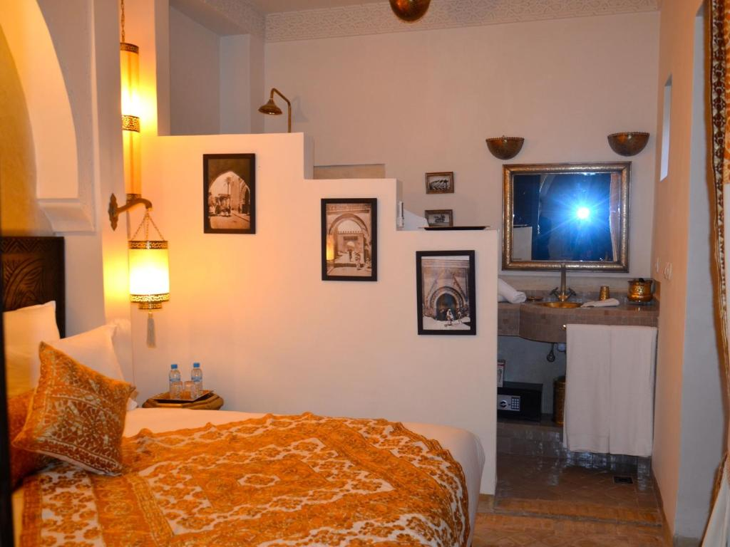 Riad r ve d 39 or chambres d 39 h tes marrakech for Reve chambre hotel