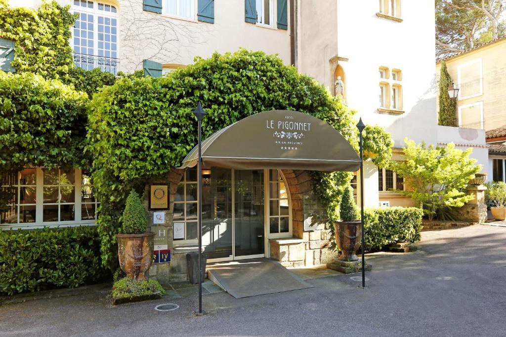 Le pigonnet esprit de france r servation gratuite sur - Restaurant avec jardin aix en provence ...