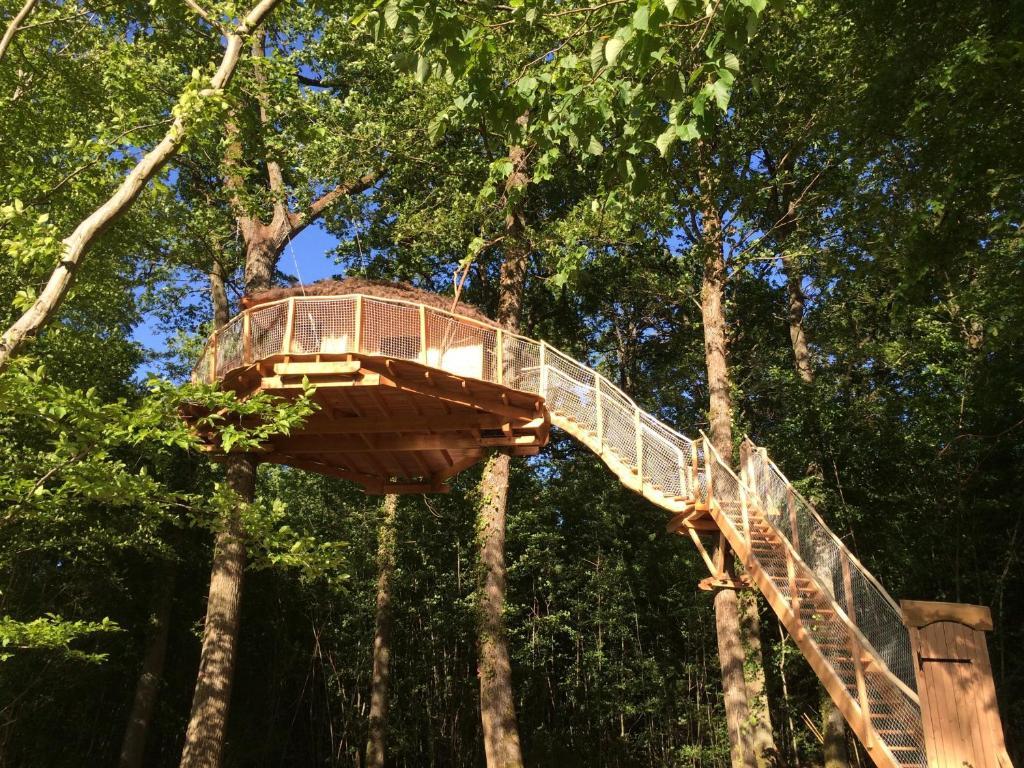 Chambres d 39 h tes les cabanes au bois d 39 orient chambres d - Chambre d hote cabane dans les arbres ...