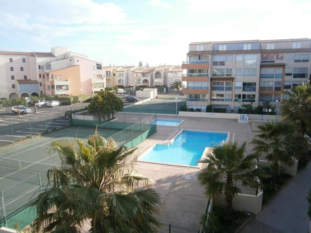 Appartement r sidence nauticap locations de vacances le for Cap d agde jardin d eden