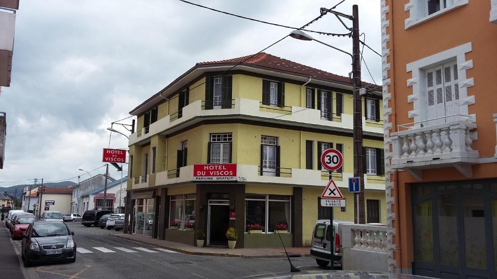 Hotel Du Viscos  Avenue Saint Joseph  Lourdes