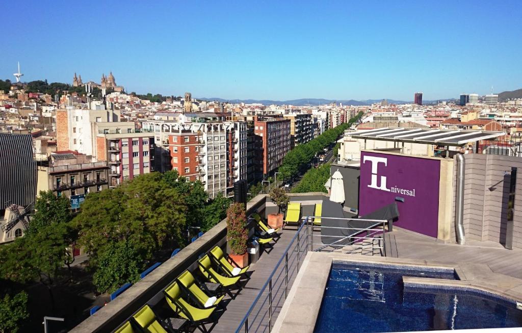 Hotel barcelona universal barcellona prenotazione on for Prenotare hotel barcellona