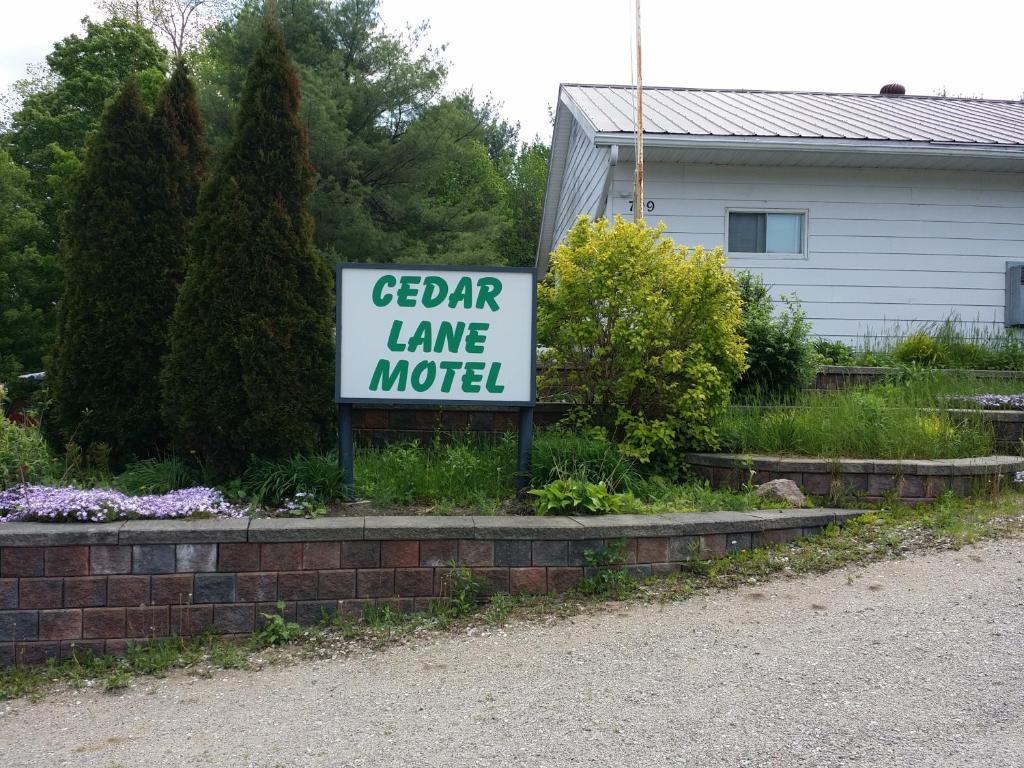 Cedar lane motel r servation gratuite sur viamichelin for Reservation motel