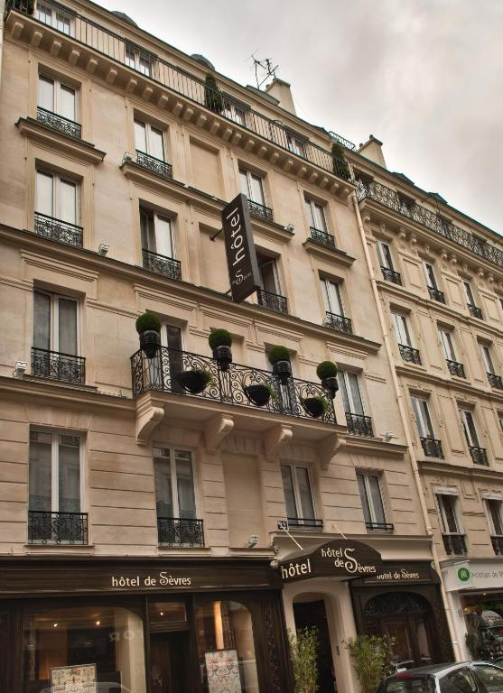 H tel de s vres paris informationen und buchungen for Hotels 75006
