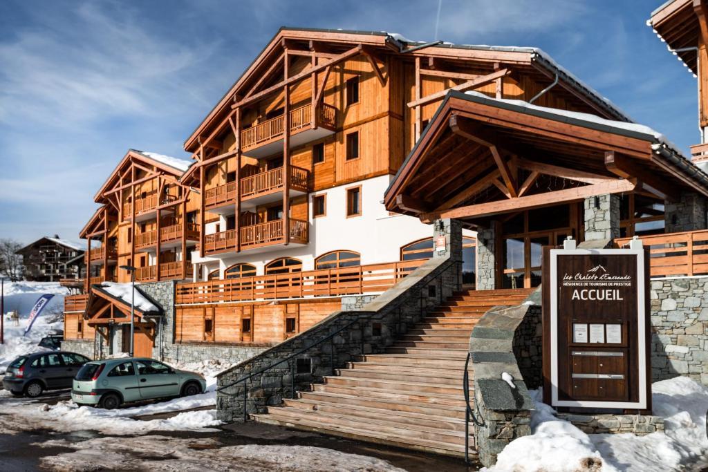 lagrange vacances les chalets d emeraude beaufort book your hotel with viamichelin