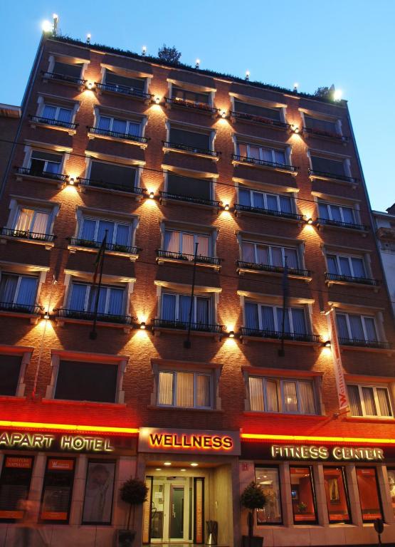 Wellness apart hotel brussels belgium for Aparte hotel