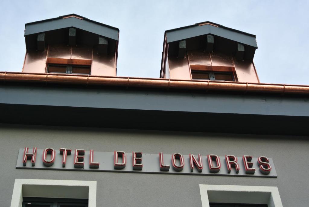 Hotel de londres r servation gratuite sur viamichelin for Hotel piscine londres
