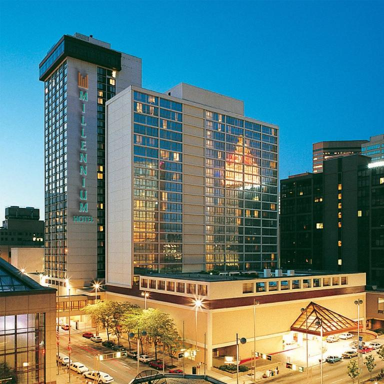 Hotels Connected To Duke Energy Convention Center