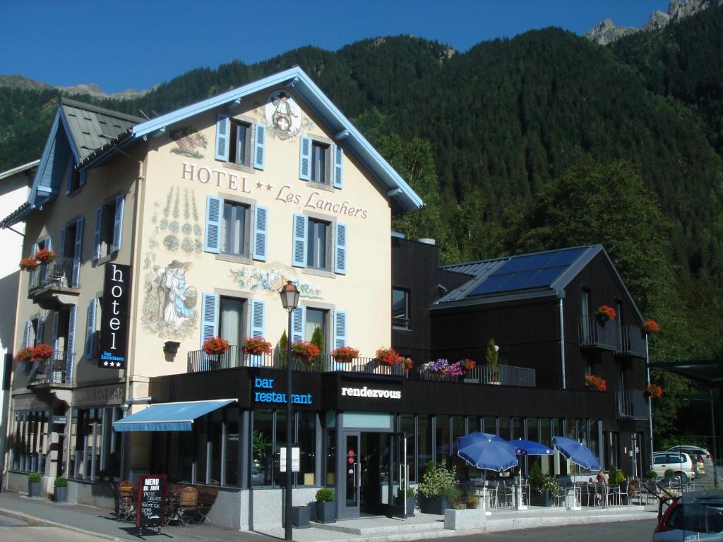 Hotel les lanchers chamonix mont blanc for Hotels chamonix