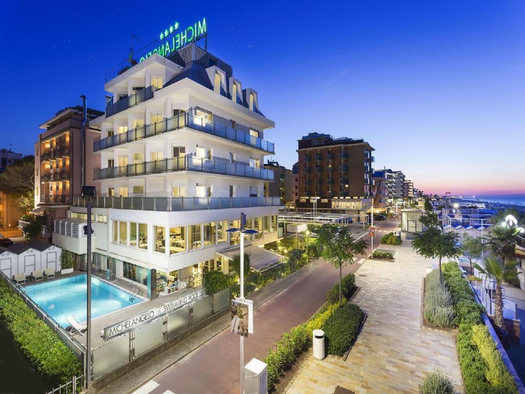 Hotel michelangelo riccione prenotazione on line viamichelin - Bagno 60 riccione ...
