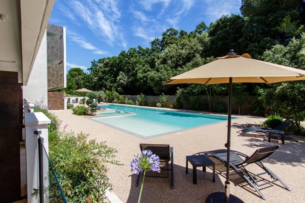 Forme hotel montpellier r servation gratuite sur viamichelin for Appart hotel montpellier avec piscine