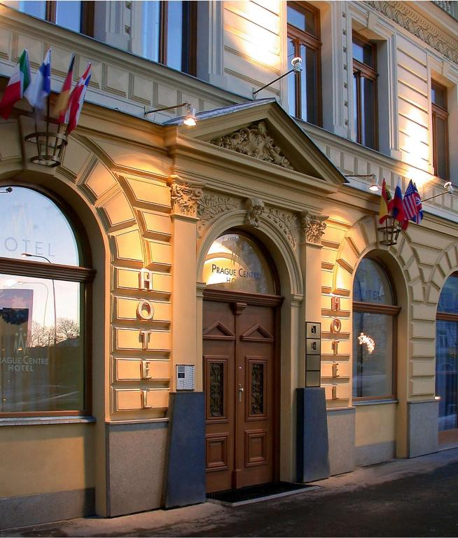 Prague centre superior r servation gratuite sur viamichelin for Hotel reservation in prague