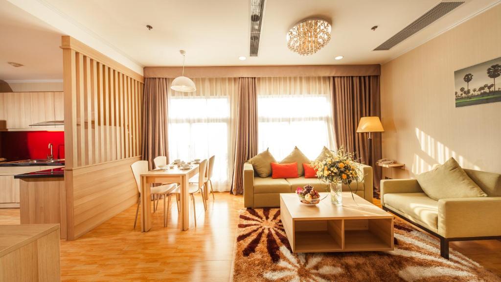 Suite Giường đôi/2 Giường đơn (1 phòng ngủ)