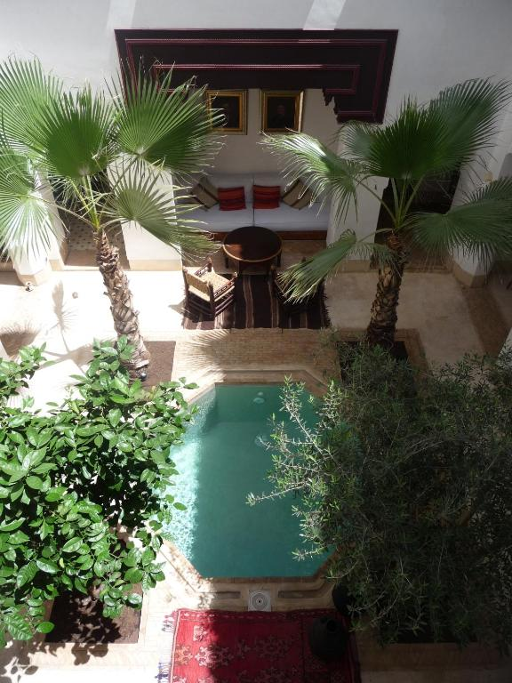 Riad matham chambres d 39 h tes marrakech for Chambre d hotes marrakech