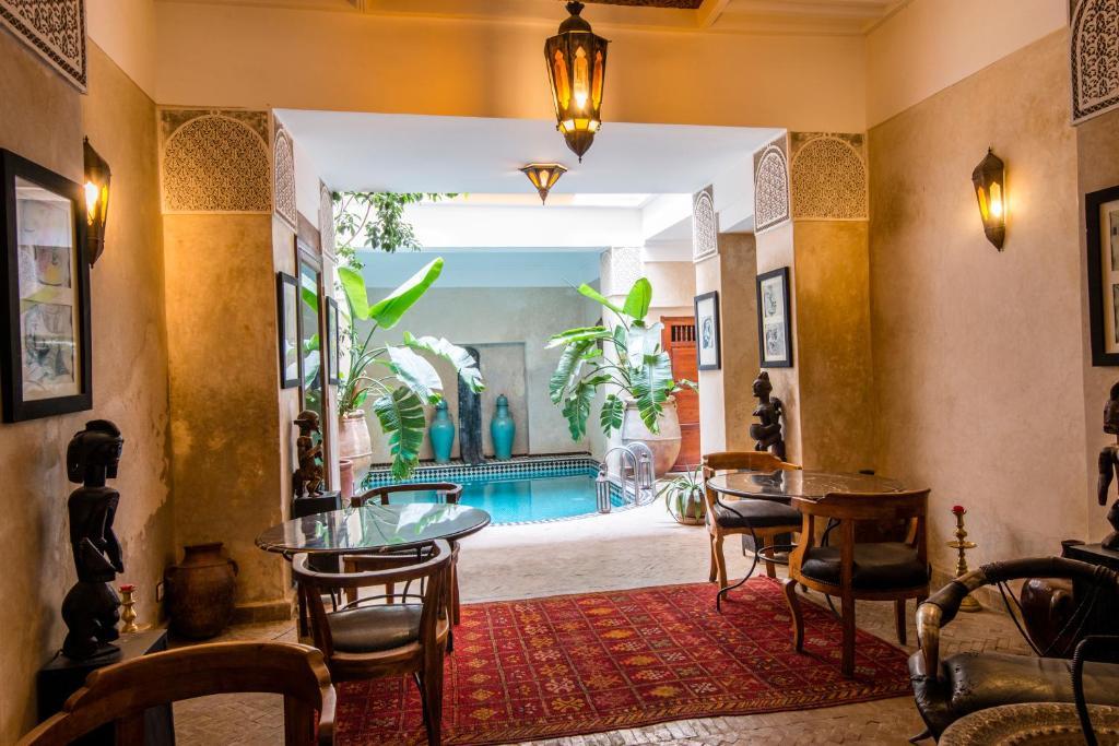 Riad dar ourika r servation gratuite sur viamichelin - Casas marroquies ...