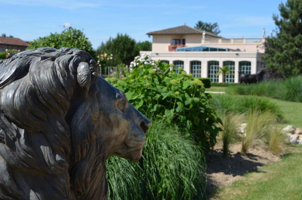 H u00f4tel du Bois Blanc Relais et Ch u00e2teaux Réservation gratuite sur ViaMichelin # Hotel Du Bois Blanc Vonnas