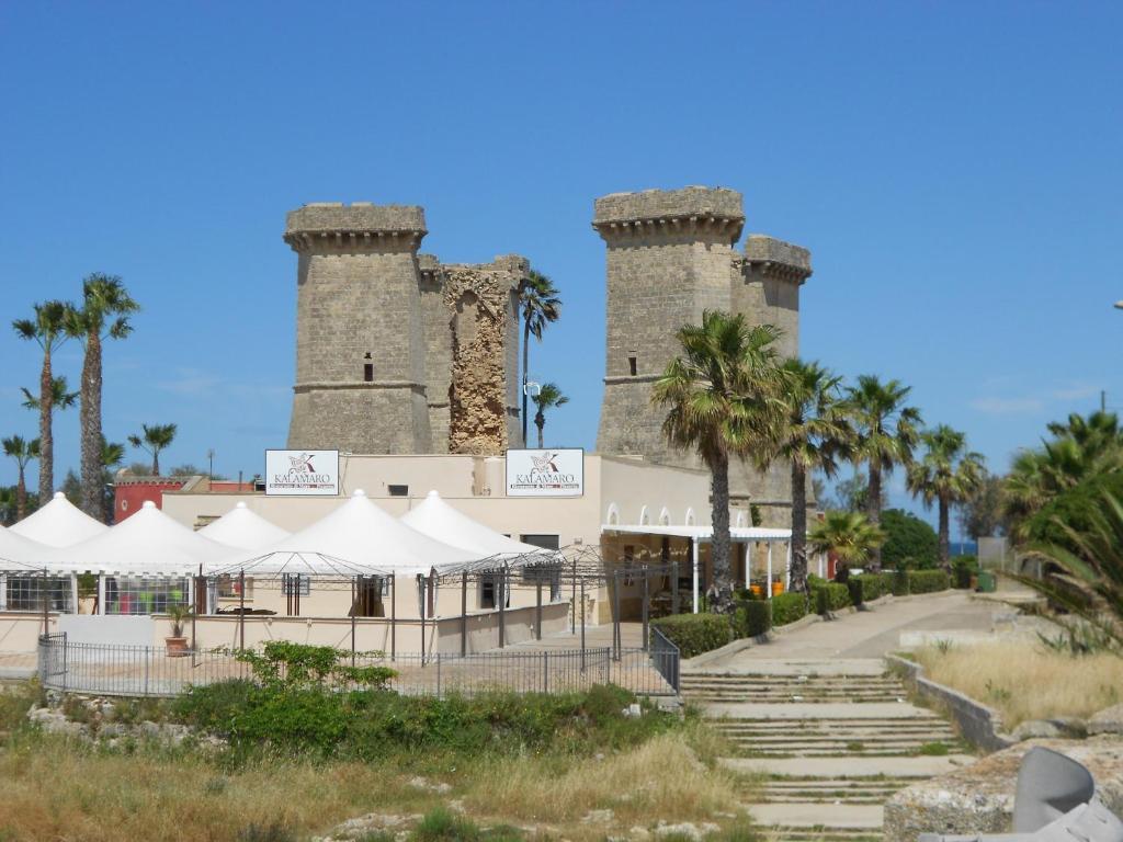 Quattro Colonne di fronte al mare, Appartamento Santa Maria al Bagno