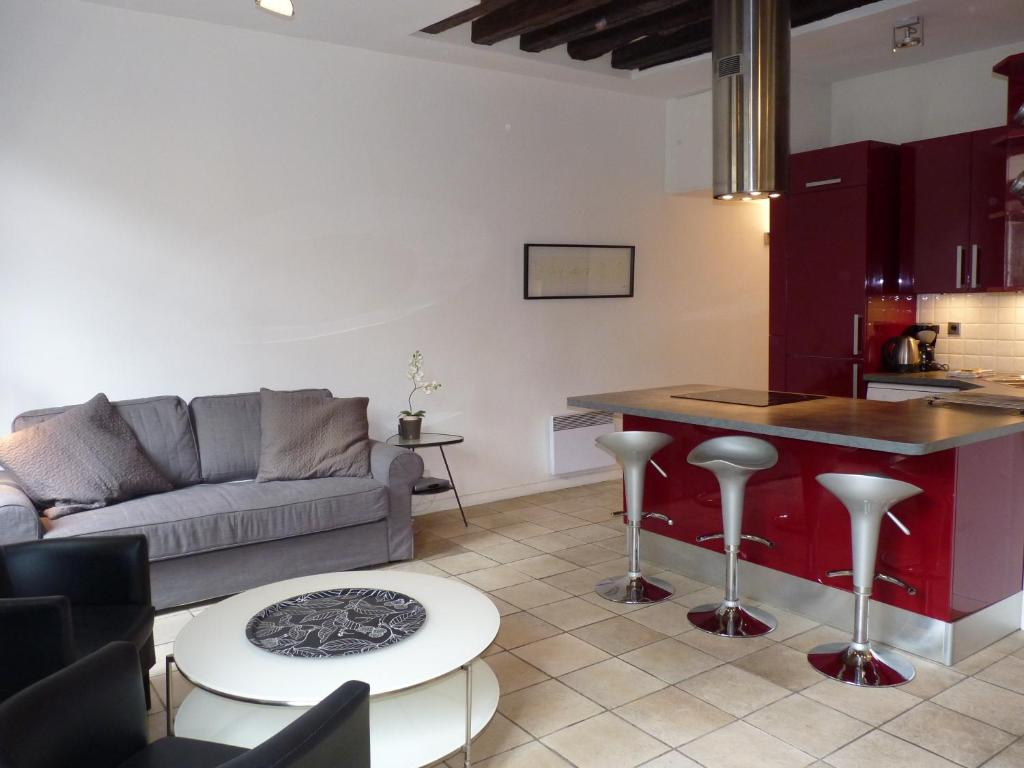 appartement apart of paris le marais rue au maire. Black Bedroom Furniture Sets. Home Design Ideas