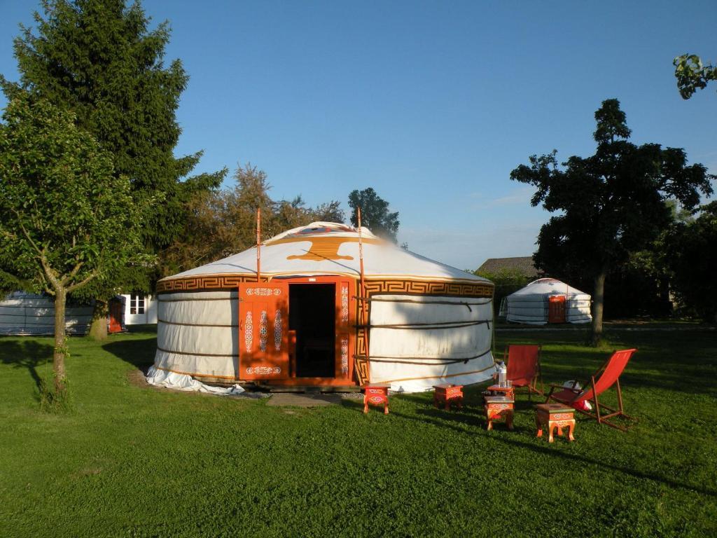 Yourte nomade lodge r servation gratuite sur viamichelin for Auberge maison gauthier tadoussac