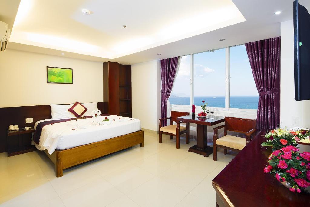 Phòng Giường Đôi Executive nhìn ra biển
