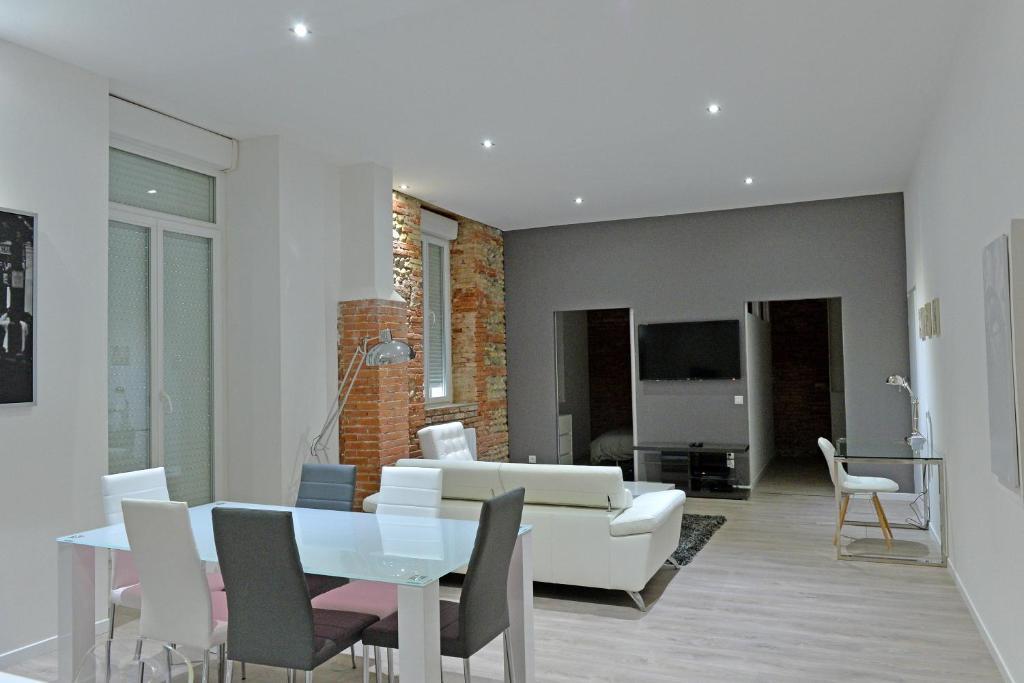 Appartement loft jean jaur s appartement toulouse en for Appartement atypique haute garonne