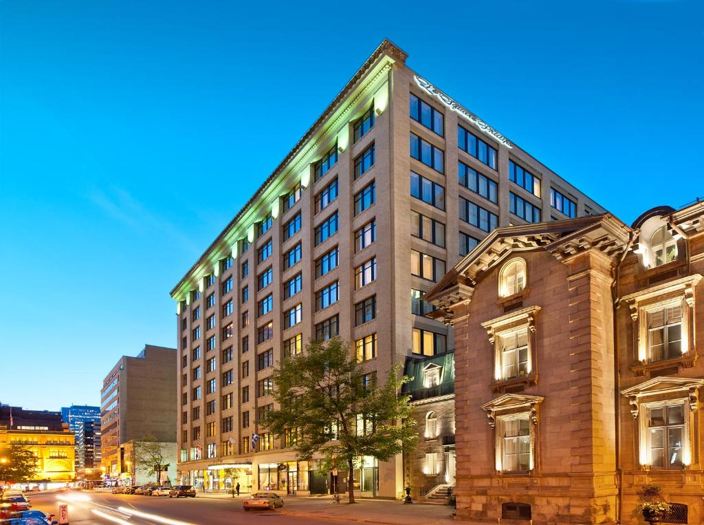 Le Square Phillips Hotel And Suites Montreal Canada