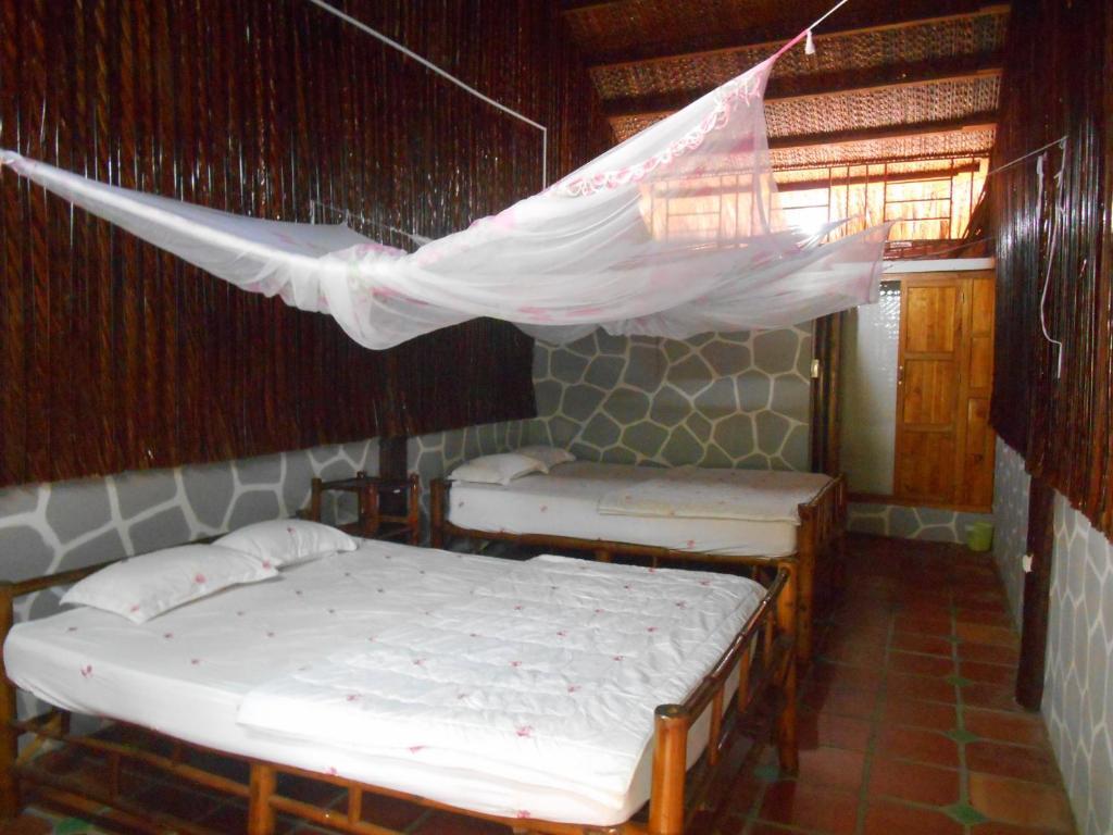Phòng Đôi với 2 Giường Đôi
