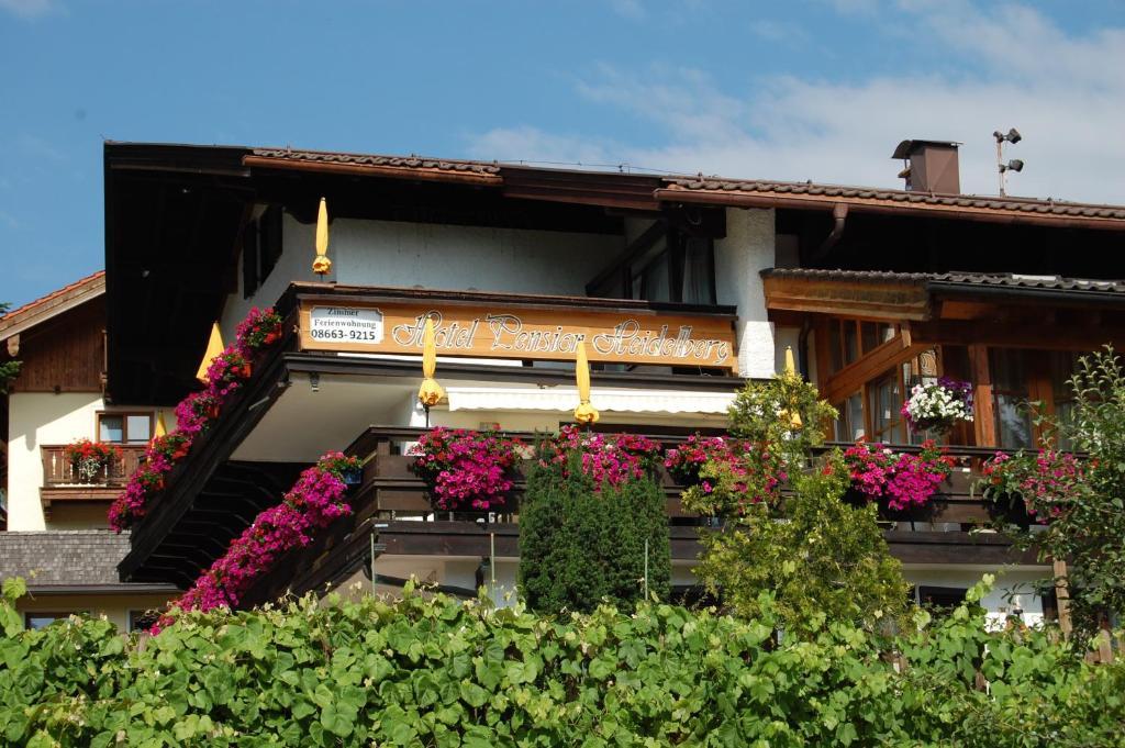 Hotel Pension Haus Heidelberg Ruhpolding