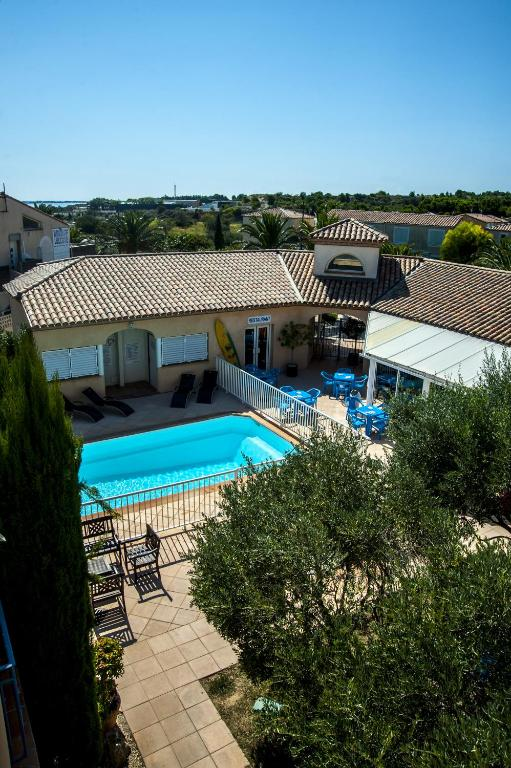 R sidence h teli re le leukos locations de vacances leucate for Location residence hoteliere