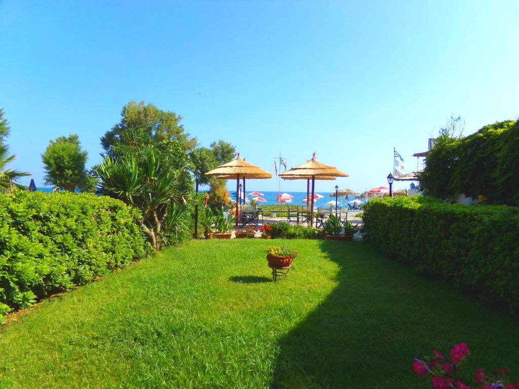 Katerina seaside studios r servation gratuite sur for Jardin katerina