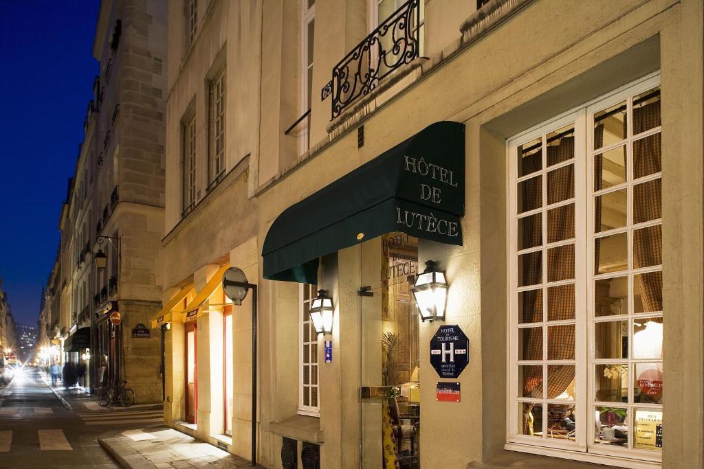 H tel de lutece r servation gratuite sur viamichelin for Reserver un hotel a paris
