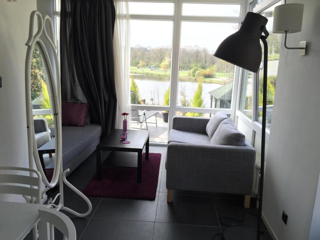 Uma área de estar em Villa Westbroekpark