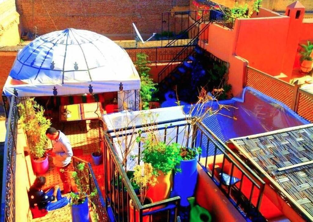 Kleurijke Marokkaanse Inrichting : Bed & Breakfast Riad Layla Rouge ...