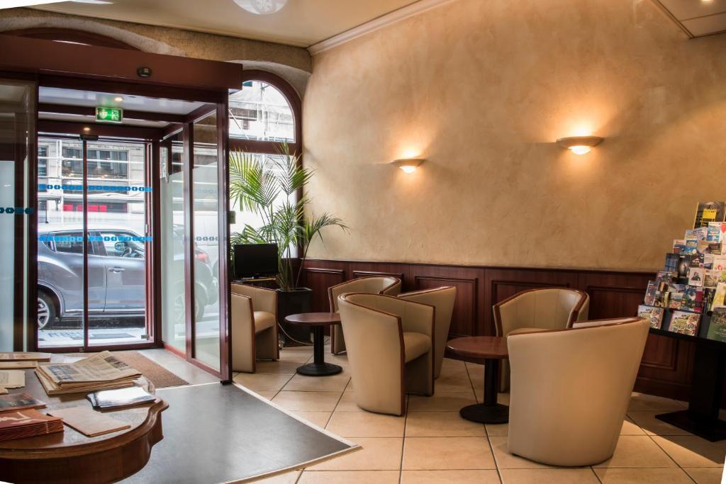 Hotel moderne lione prenotazione on line viamichelin for Hotels 69002 lyon