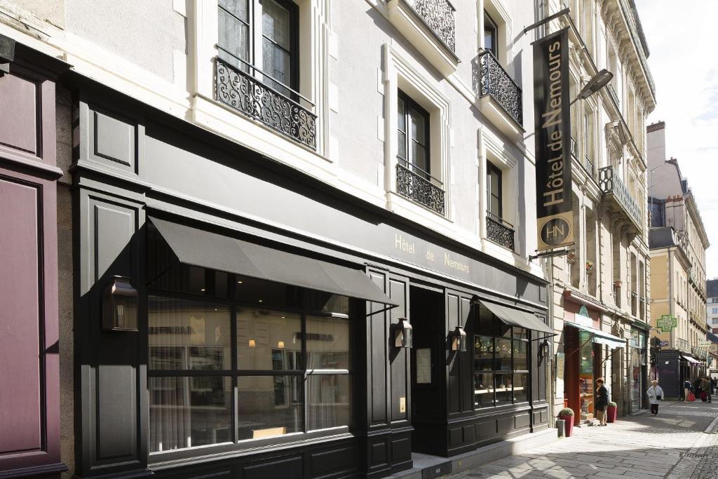 hotel rue de nemours rennes. Black Bedroom Furniture Sets. Home Design Ideas
