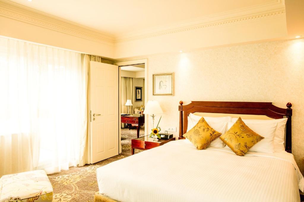Suite Junior - Phòng trưng bày với Khu vườn có 1 Giường cỡ King