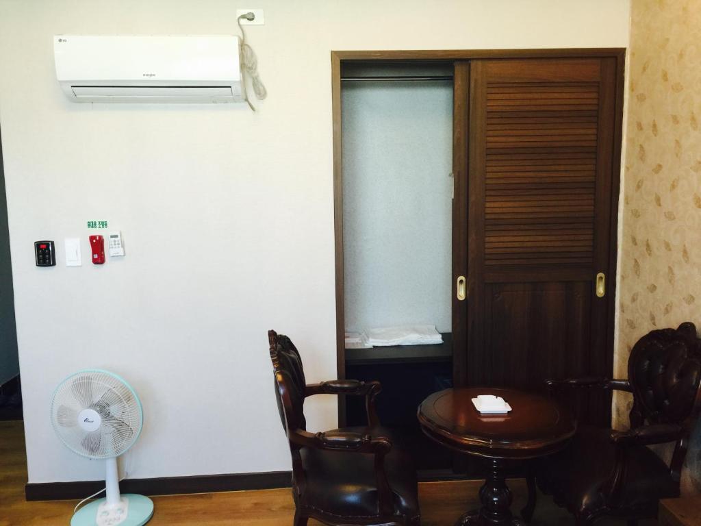 Modern business hotel gumi viamichelin informatie en online reserveren for Moderne toiletartikelen