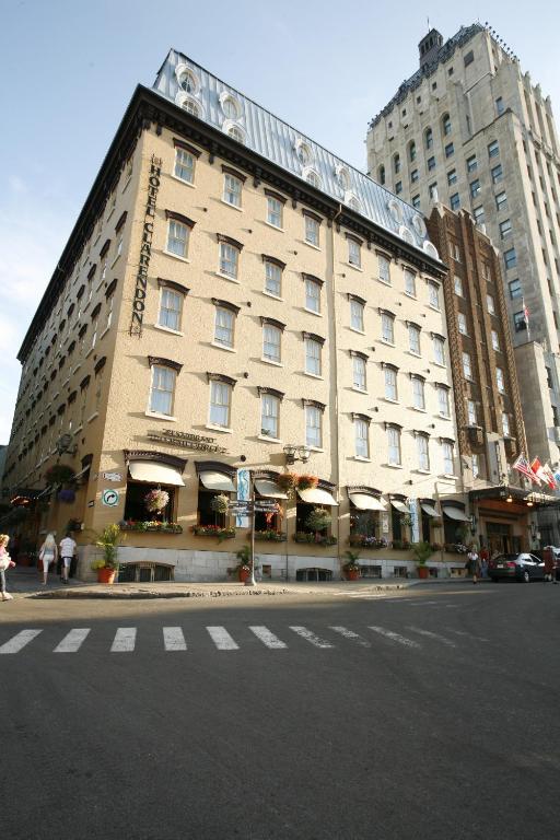 Hotel clarendon qu bec prenotazione on line viamichelin for Viamichelin quebec