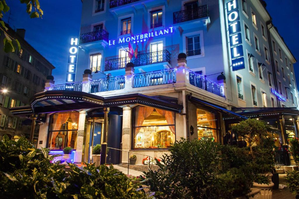 Hotel montbrillant geneva book your hotel with viamichelin for Hotels geneve