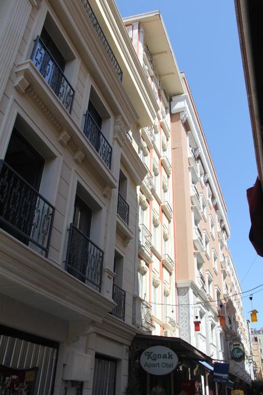 Konak apart hotel istanbul turkey for Appart hotel istanbul